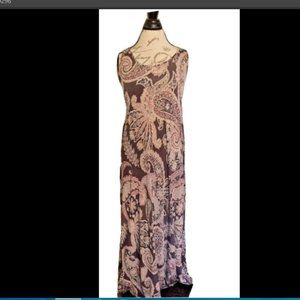 Joan Vass Size Medium Dress Size M Maxi Sleeveless